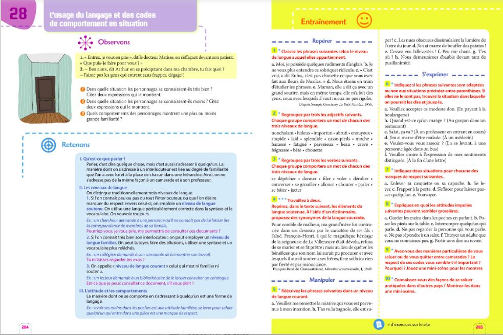 Cours De Francais 6e A Et 6e E Du Jeudi 19 03 Au Lundi 23 03 College Karl Marx